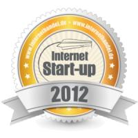 Auszeichnung Internet Start Up 2012