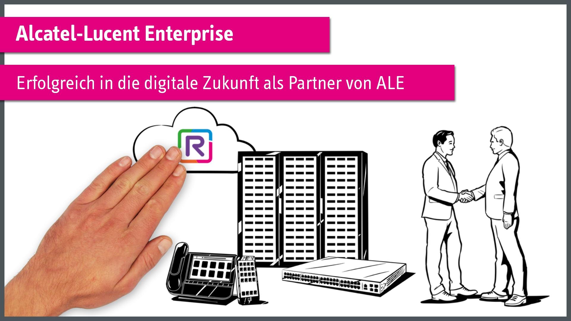 Erfolgreich in die digitale Zukunft als Partner von ALE