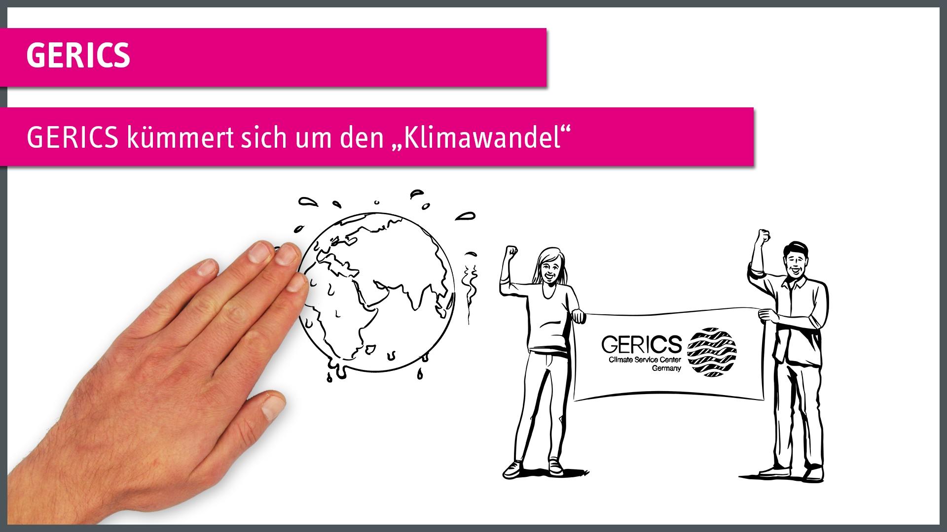 """GERICS Climate Center Germany"" einfach erklärt"