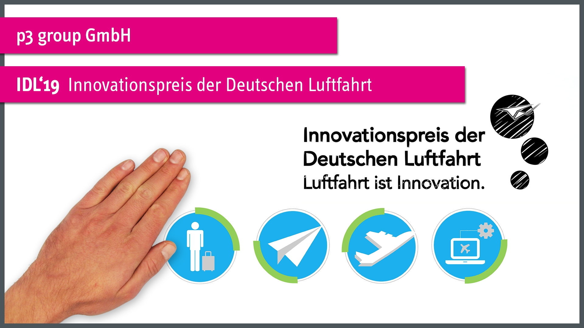 IDL'19 - Innovationspreis der Deutschen Luftfahrt