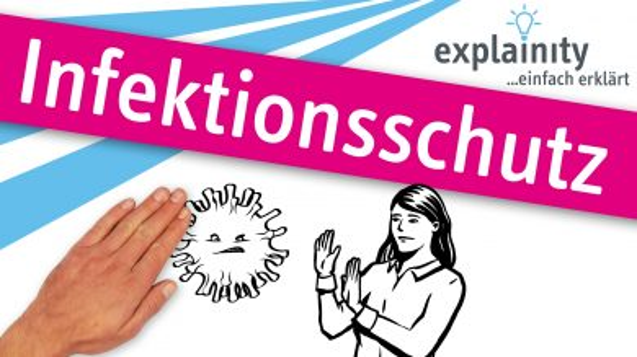 Infektionsschutz Thumbnail Explainity