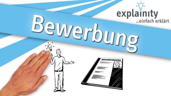 Bewerbung einfach erklärt: explainity Erklärvideo des explainity education-projects