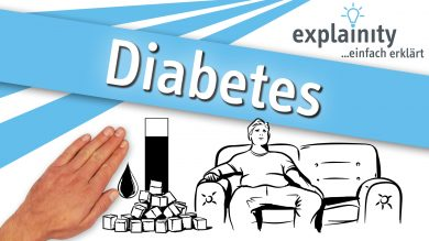 Diabetes einfach erklärt: explainity Erklärvideo des explainity education-projects