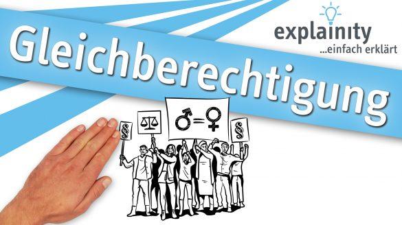 Gleichberechtigung einfach erklärt: explainity Erklärvideo des explainity education-projects