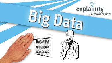 Big Data einfach erklärt: explainity Erklärvideo des explainity education-projects