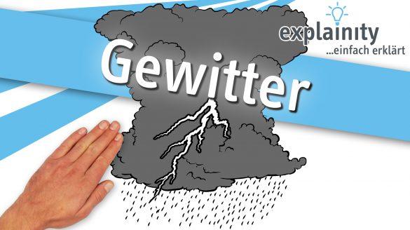 Gewitter 2021 Explainity Thumbnail