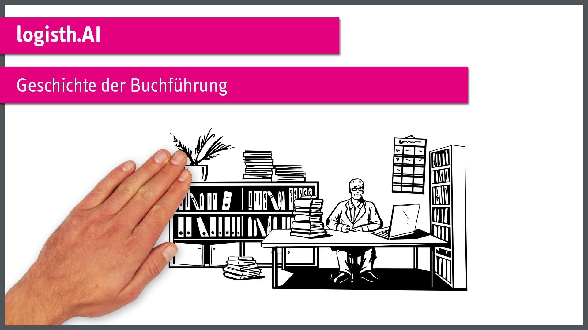 """""""Geschichte der Buchführung"""" einfach erklärt"""